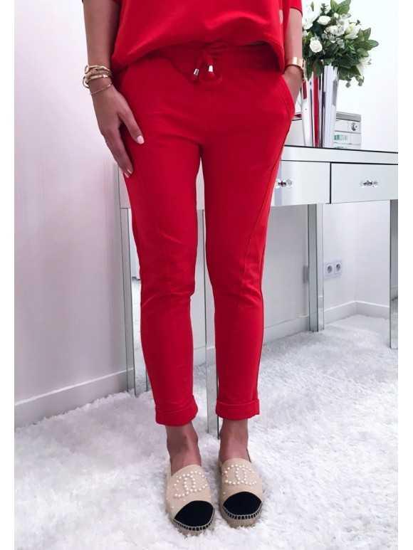 Spodnie Remi Czerwone