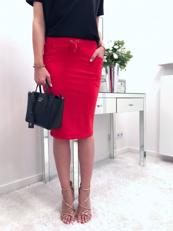 Spódnica Amy czerwień