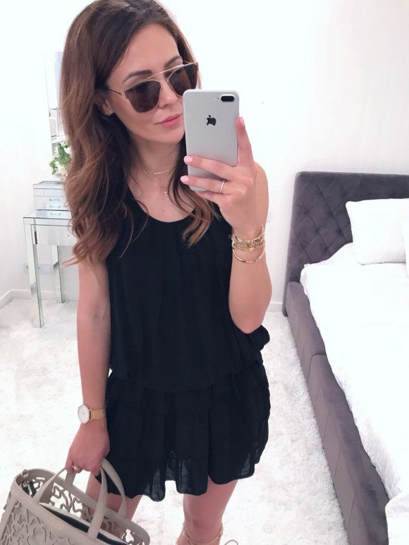Sukienka Vanessa czarna