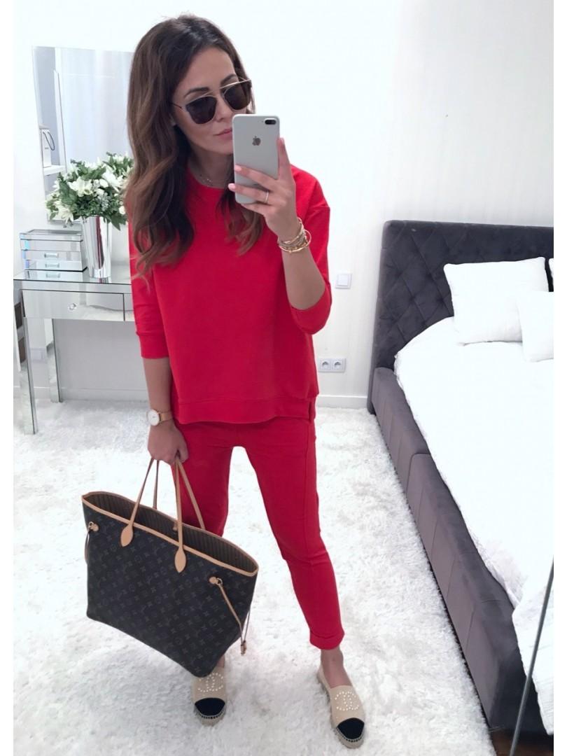 Bluza Lumi czerwona