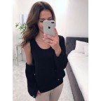 Bluzka Dalia czarna