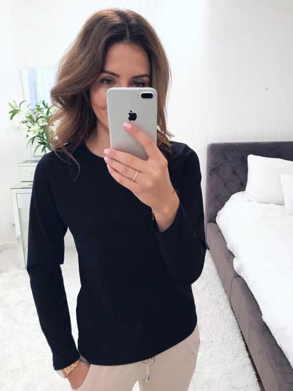 Bluzka Classic black