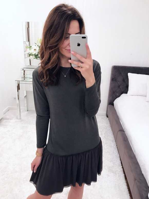 Sukienka Aleksandra khaki