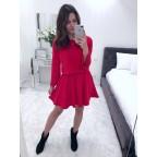 Sukienka Dzwonek czerwona