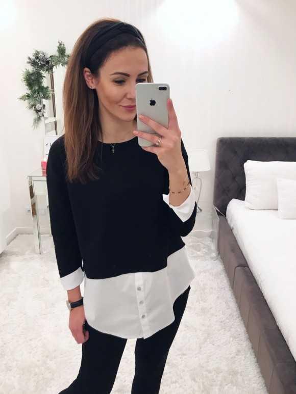 Bluzka Anita czarna