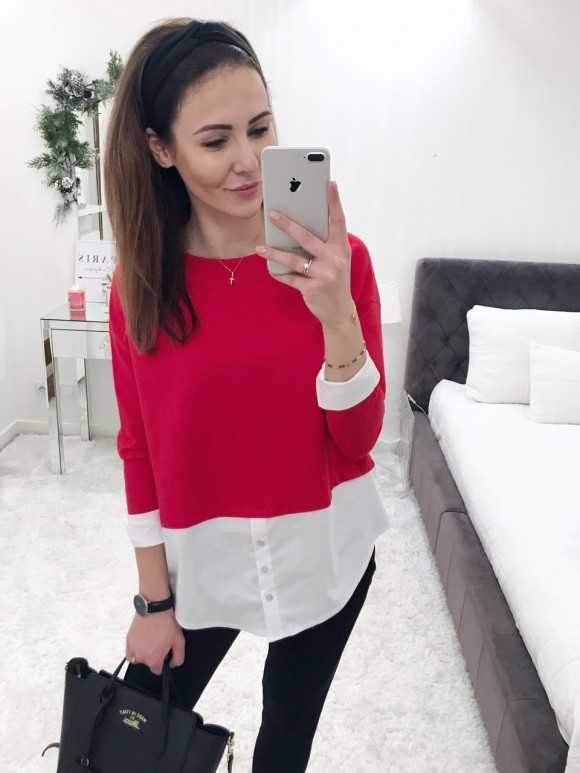 Bluzka Anita czerwona