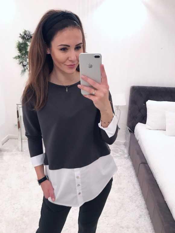 Bluzka Anita khaki