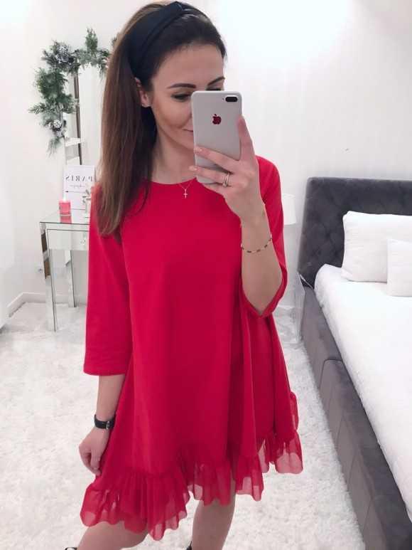 Tunika Sara czerwona