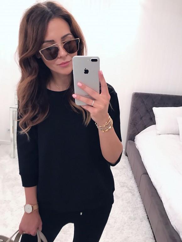 Bluza Lumi czarna