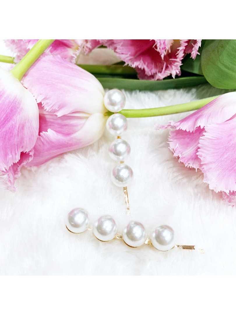 PEARL VII - wsuwki z perłami 2szt.
