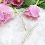 PEARL VIII- wsuwki z perłami 2szt.