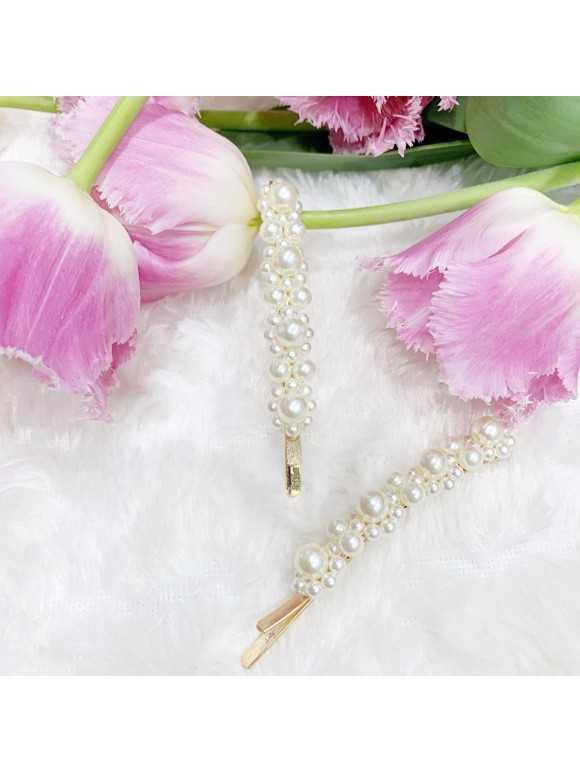 PEARL IX- wsuwki z perłami 2szt.
