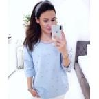 Bluza Chiara błękitna