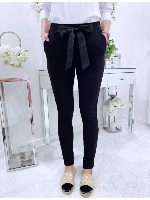 Spodnie Alex czarne