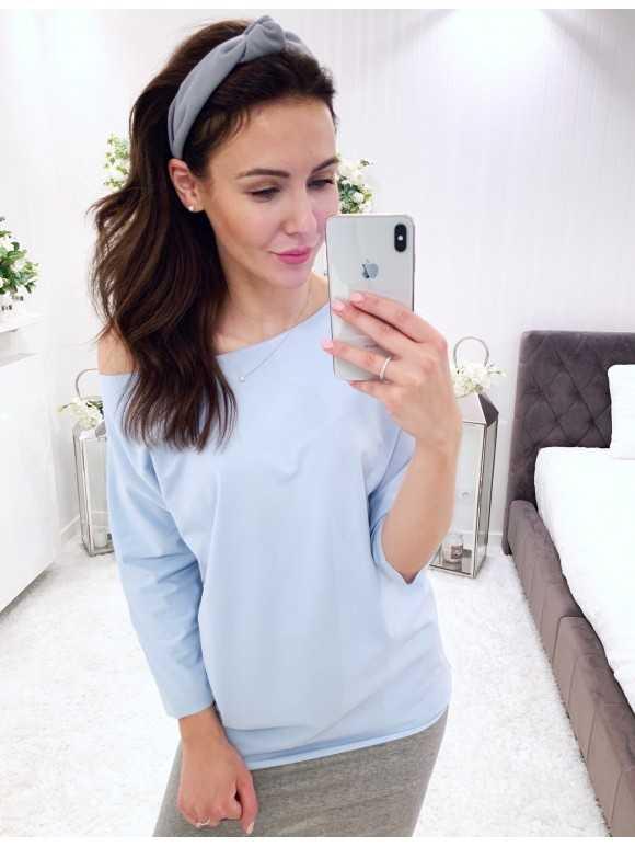 Bluzka Lena błękitna