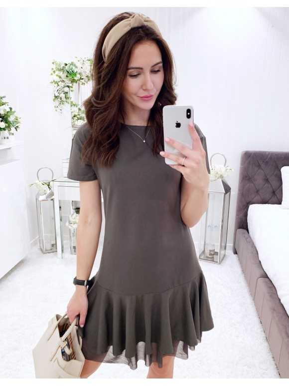 Sukienka Ashley khaki