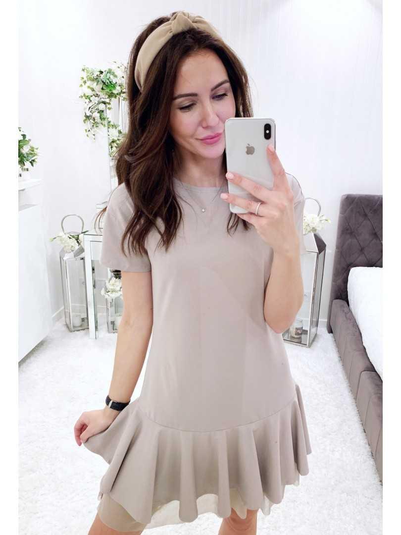 Sukienka Ashley beżowa