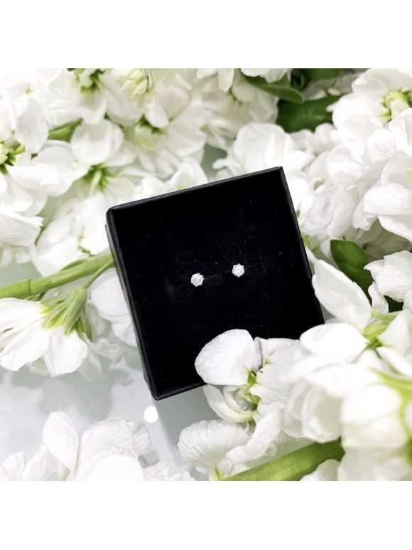 Kolczyki Crystal małe 4mm