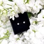 Kolczyki Crystal średnie 5mm