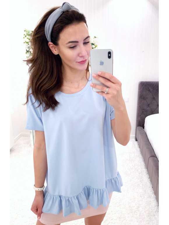 Bluzka Tiffany błękit