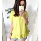 Bluzka Tiffany limon