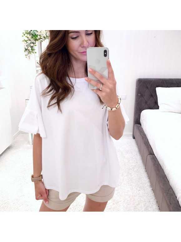 Bluzka Laure biała
